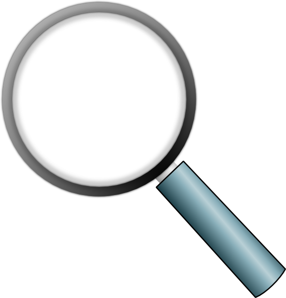 Transparent clip art at. Magnifying glass vector png