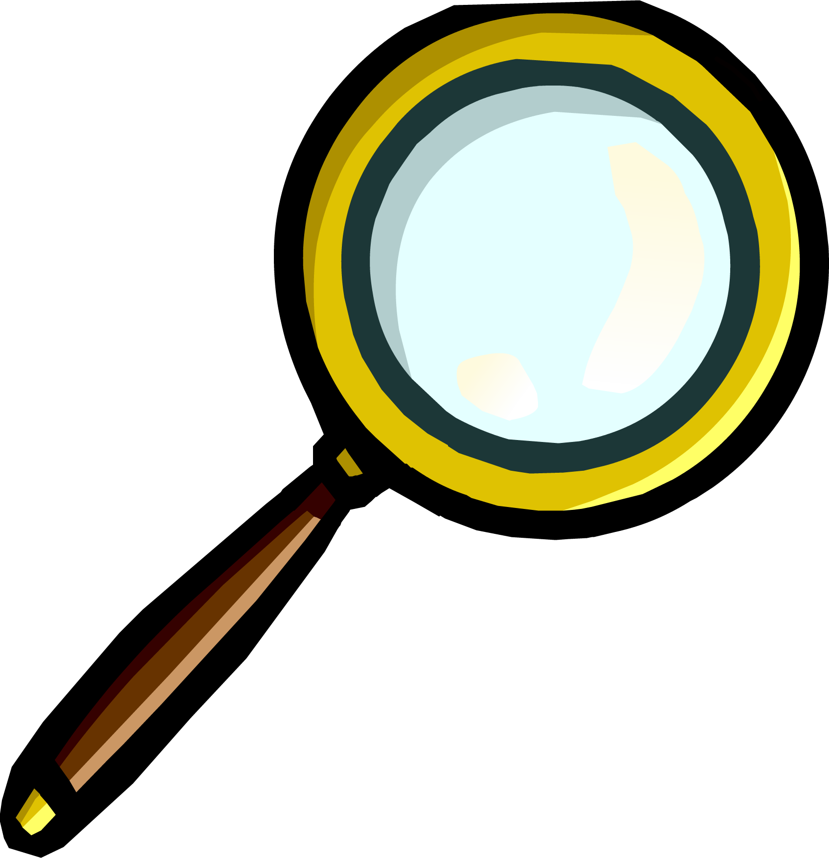 Image magnifying glass png. Mystery clipart magnifier