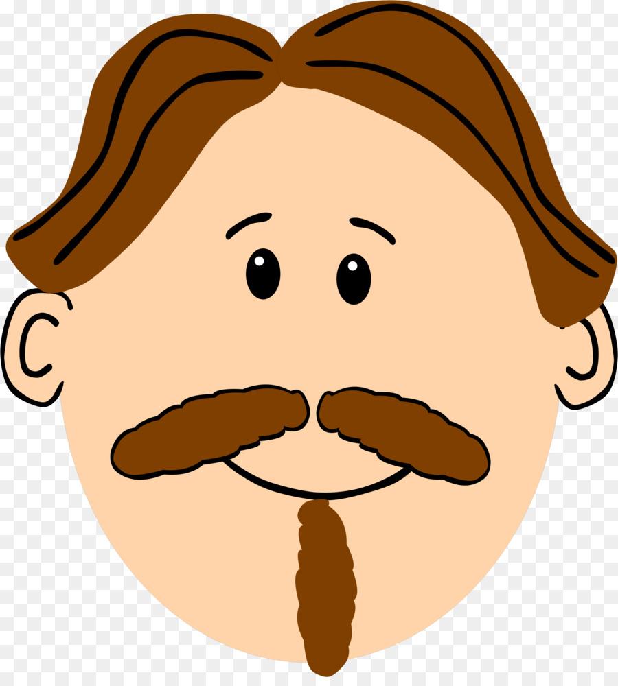 Moustache cartoon beard . Mustache clipart nose