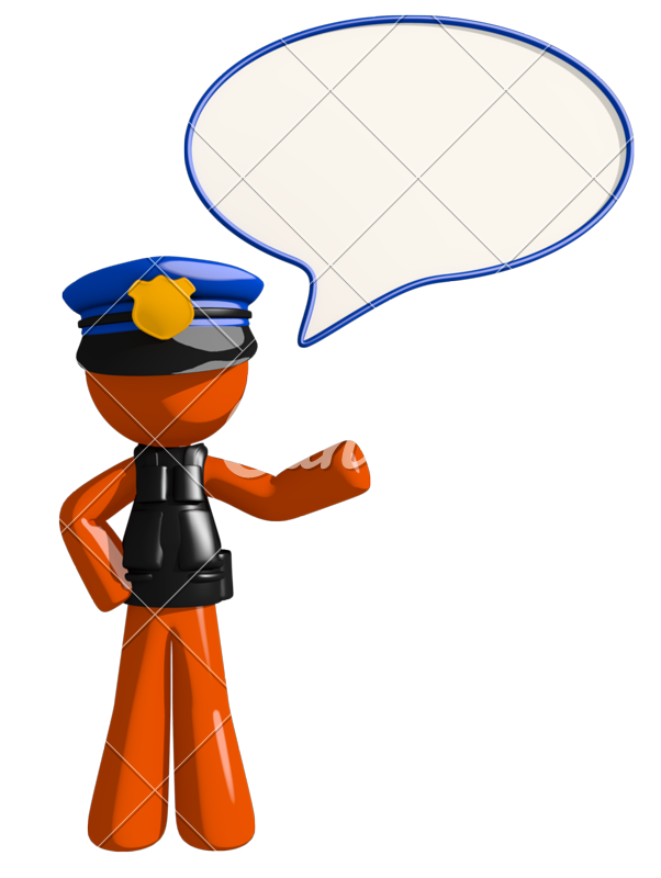Orange photos by canva. Clipart man police officer