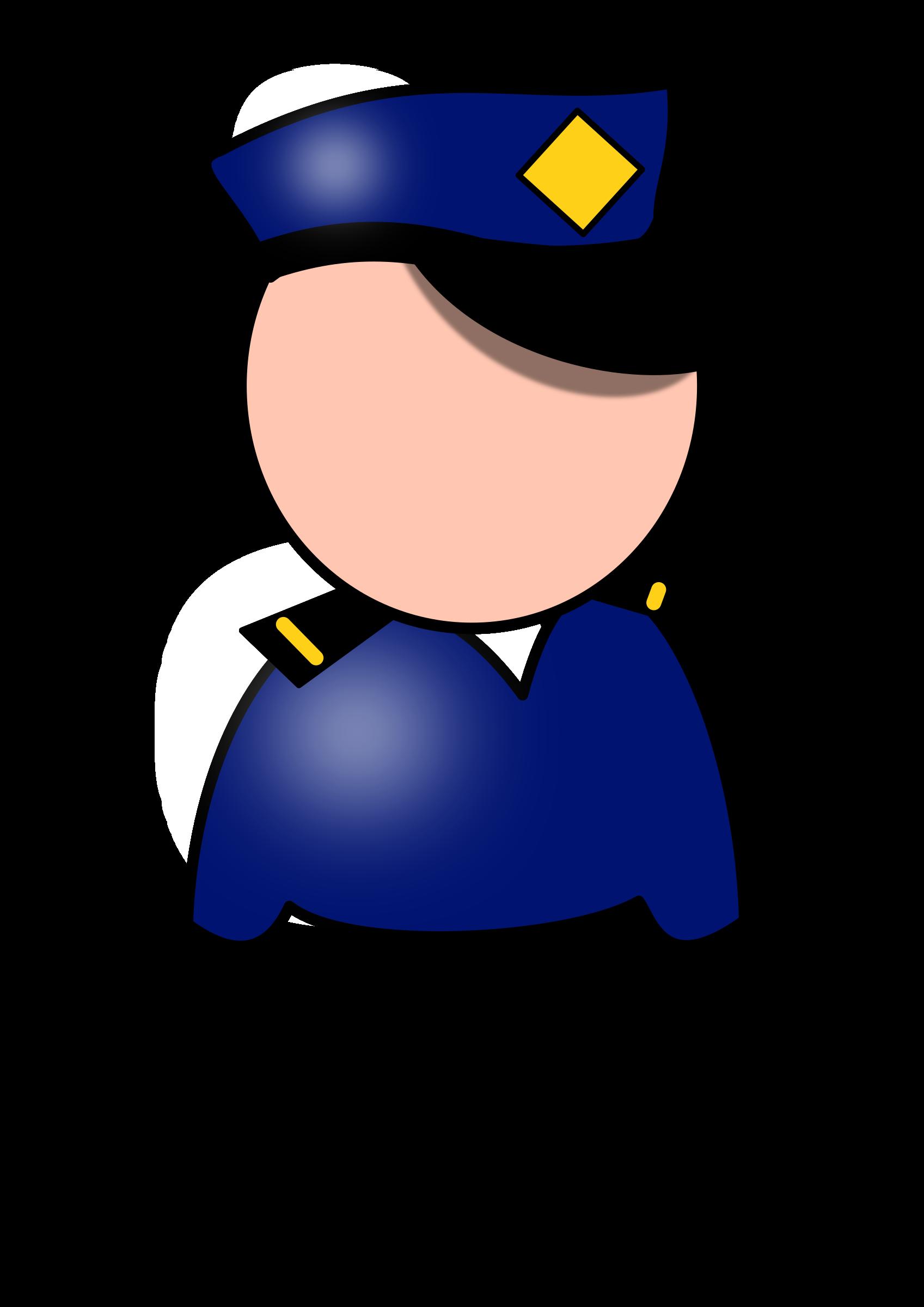 Clipart man police officer. Policeman big image png