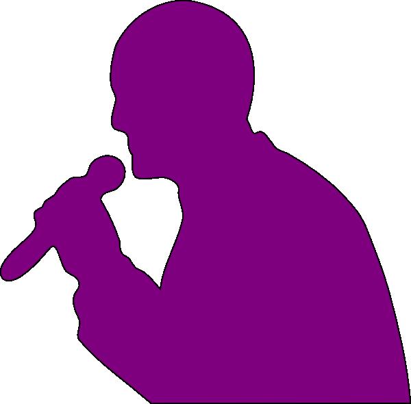 Singer clipart animated. Singing man clip art