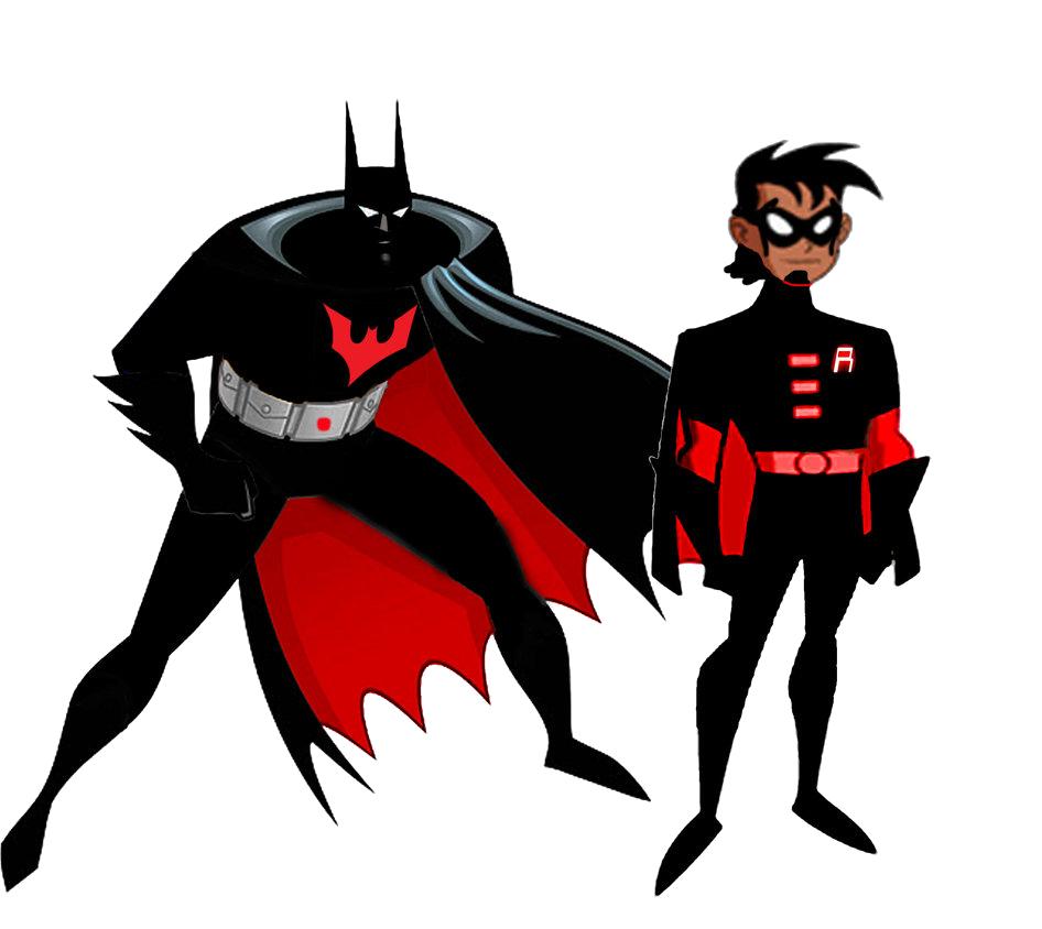 Future clipart choice. Batman and robin beyond