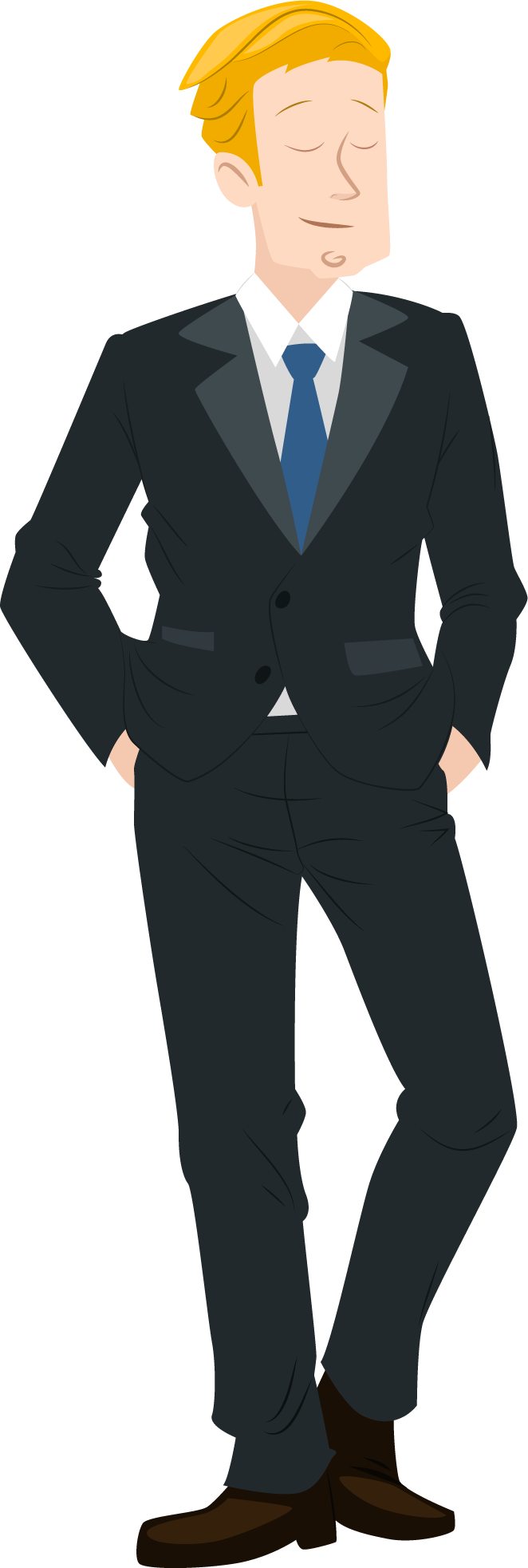 Mr clipart suited man.  collection of in