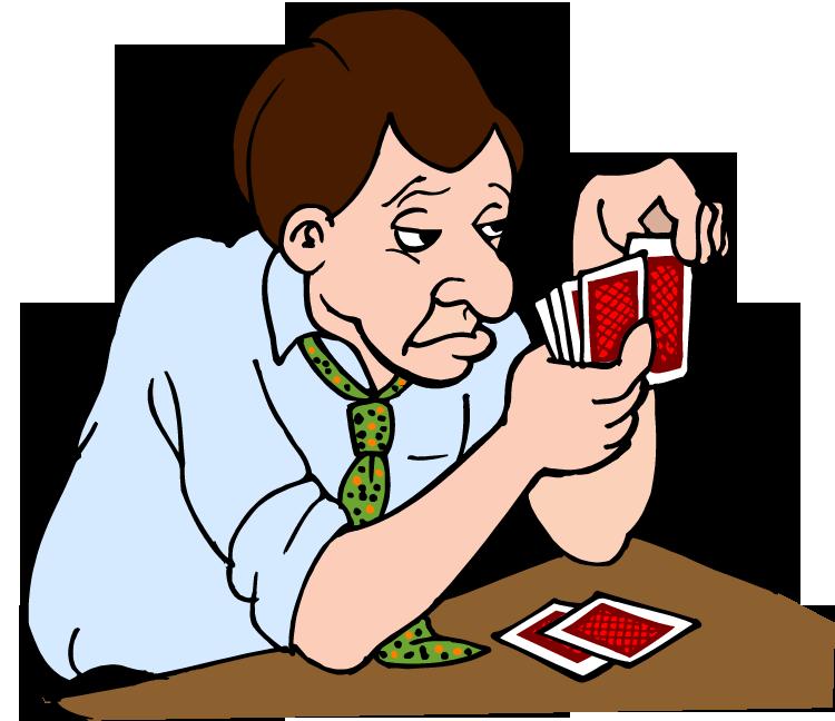 Basic poker rules for. Clipart man tailor
