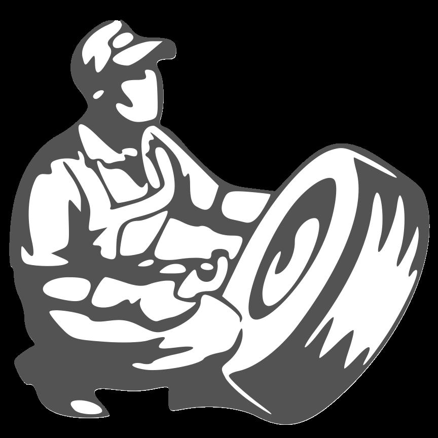 Mechanic clipart black and white. Car body repairs dukinfield