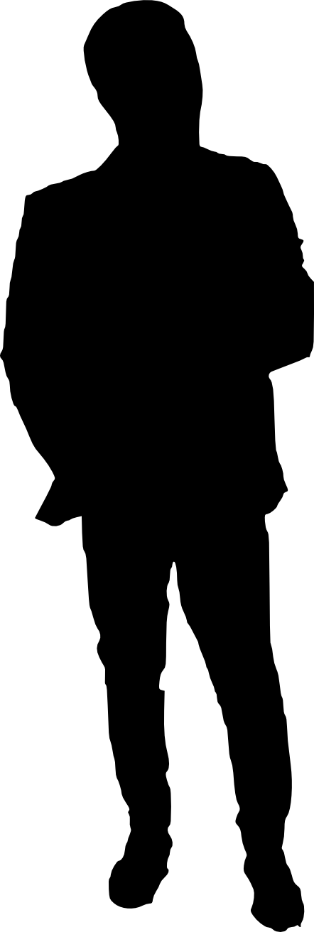 man png transparent. Human clipart human silhouette