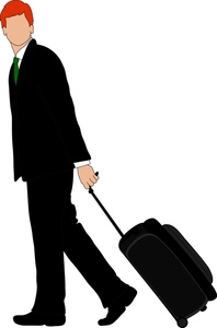 Free travelling cliparts download. Luggage clipart man