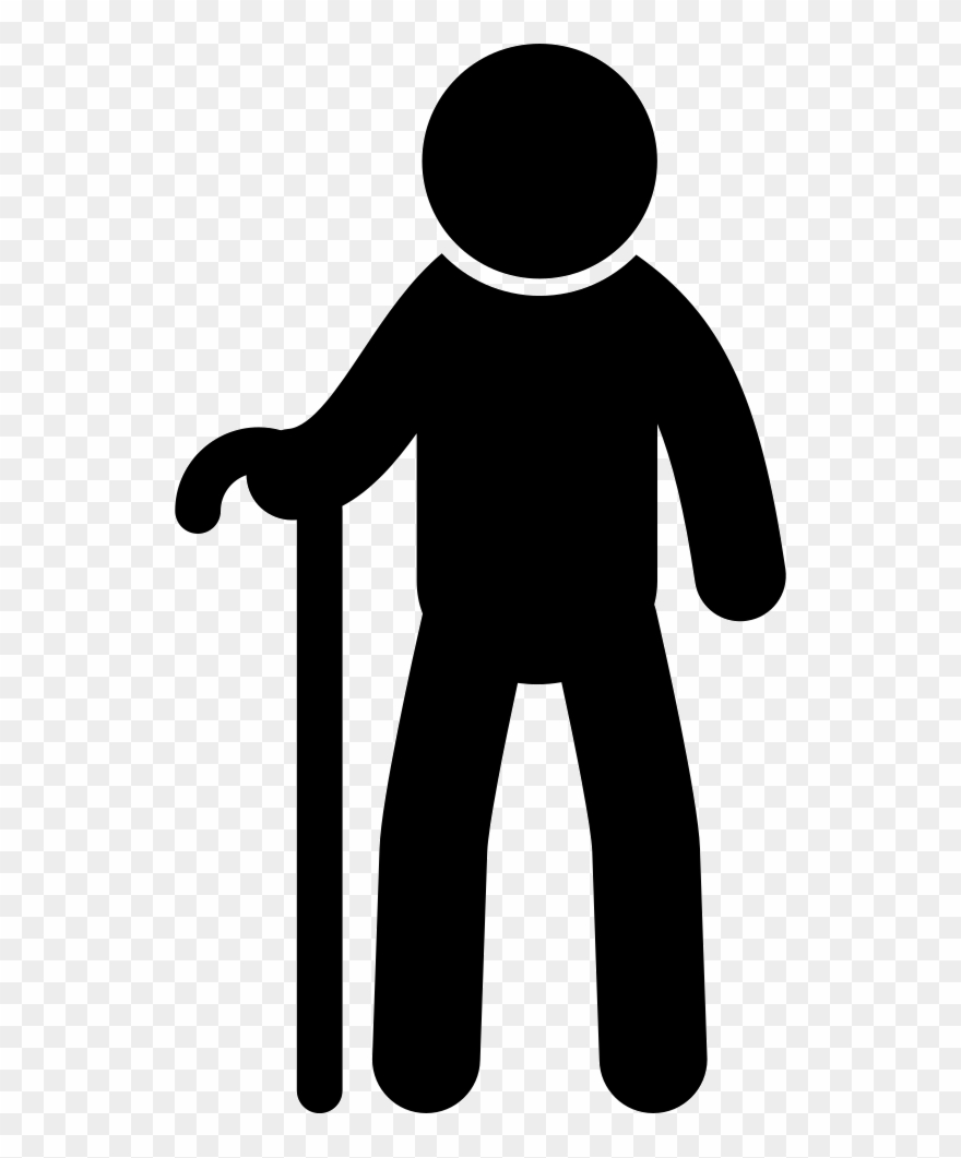 From frontal view a. Male clipart svg