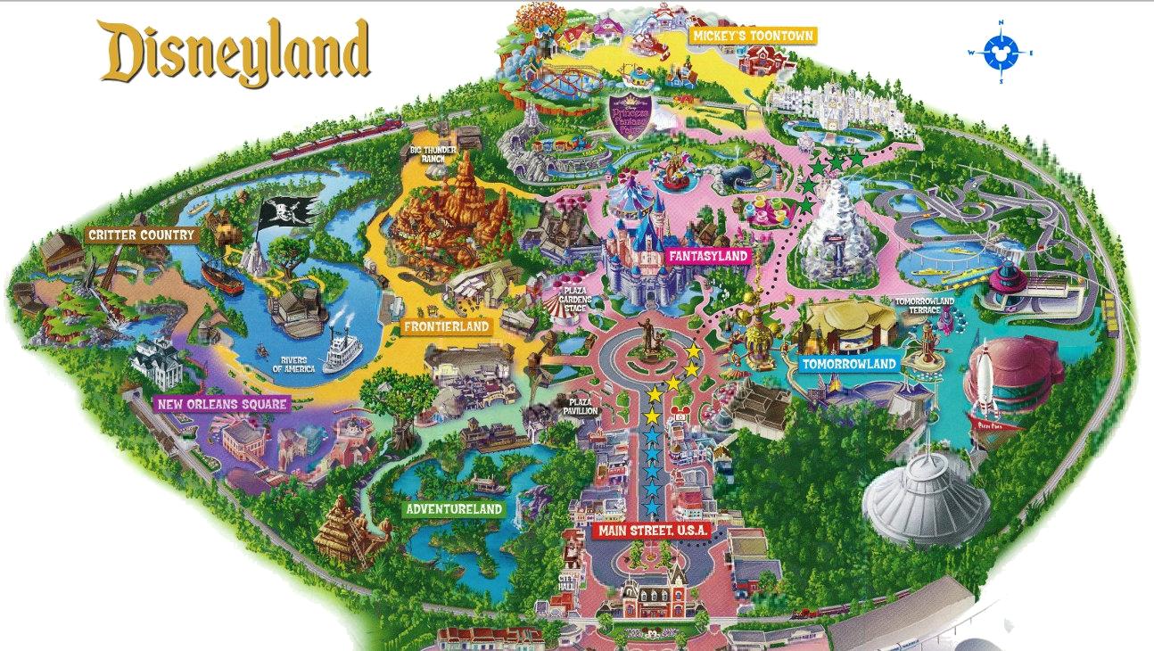Clipart map amusement park. California a destination for