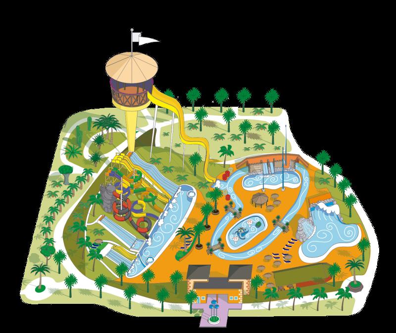 Clipart park water park. Acua parque acu tico