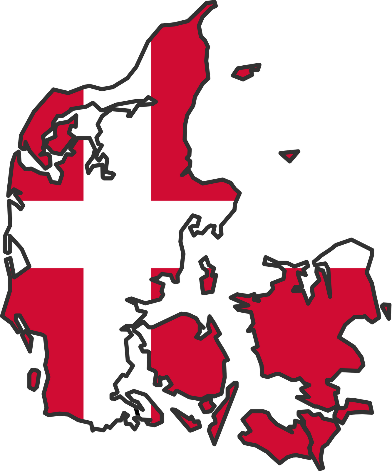Danish denmark free collection. Clipart map animated