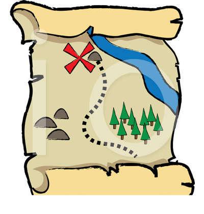 Treasure royalty illustration free. Clipart map animated