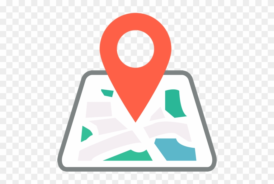 Maps clipart location. Gps tracker map and