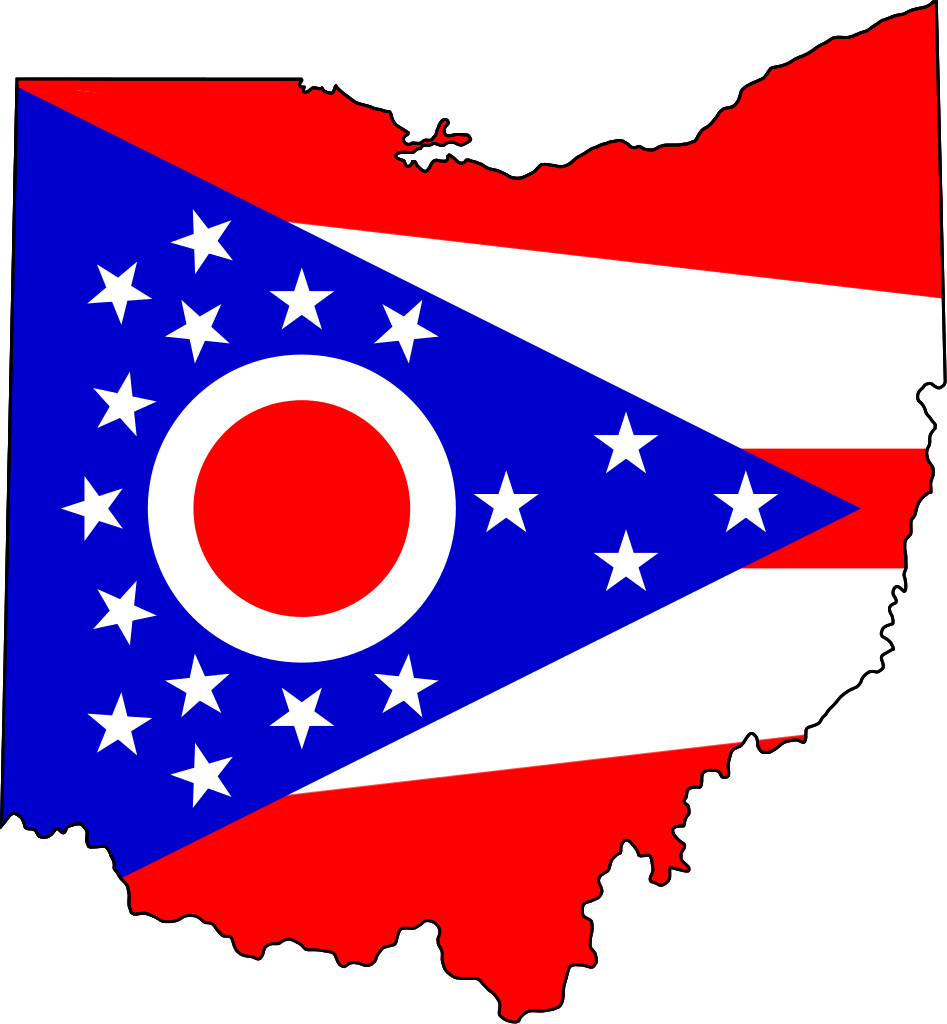 Clipart map build your own. File flag of ohio