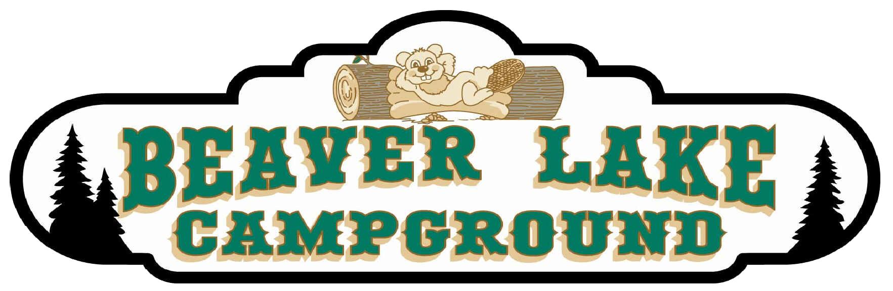 Map beaver logo. Lake clipart campground