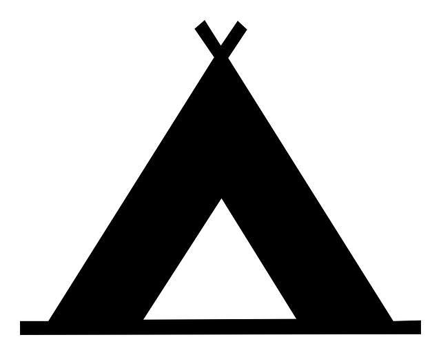 Free image on pixabay. Woodland clipart teepee
