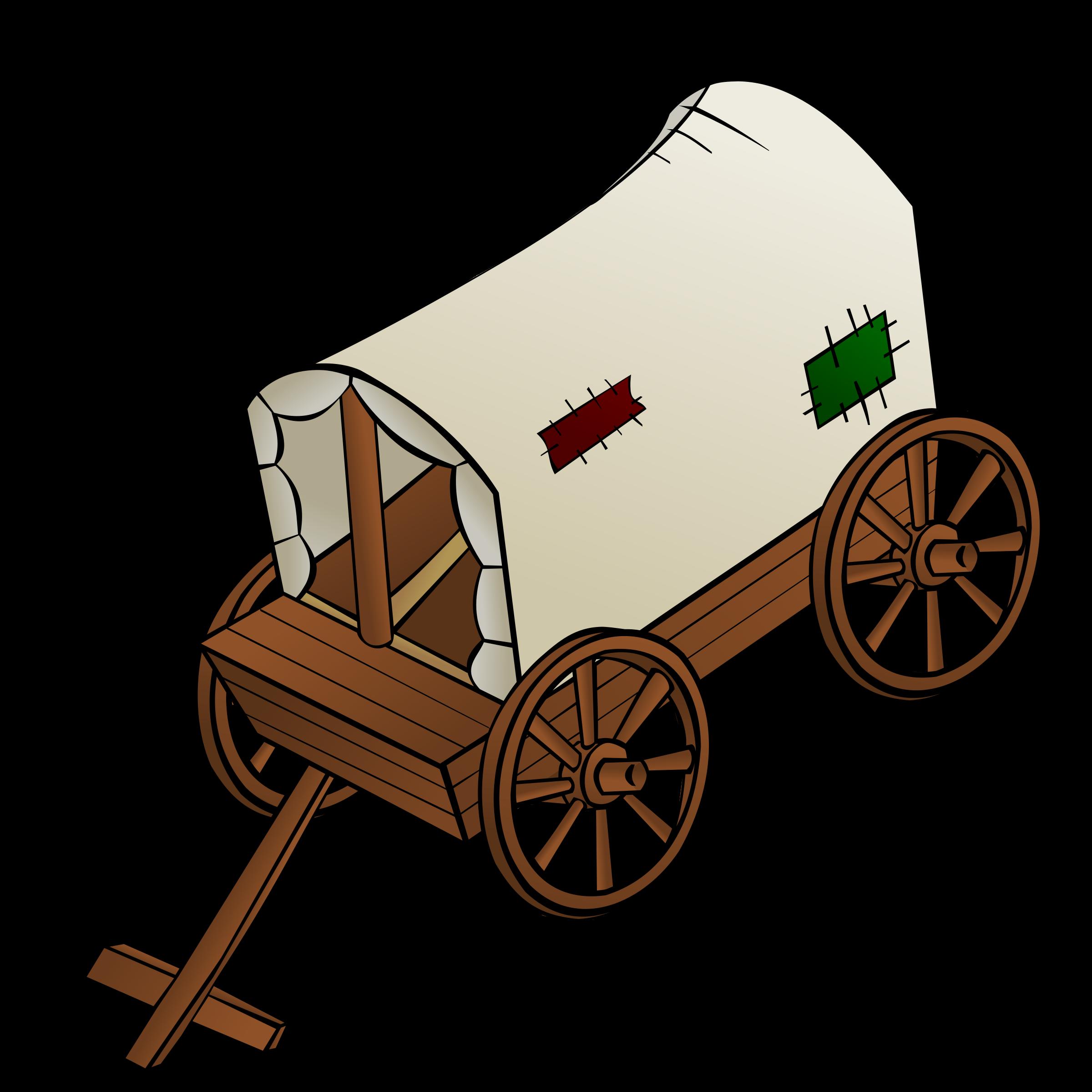 Rpg map symbols a. Wagon clipart settler
