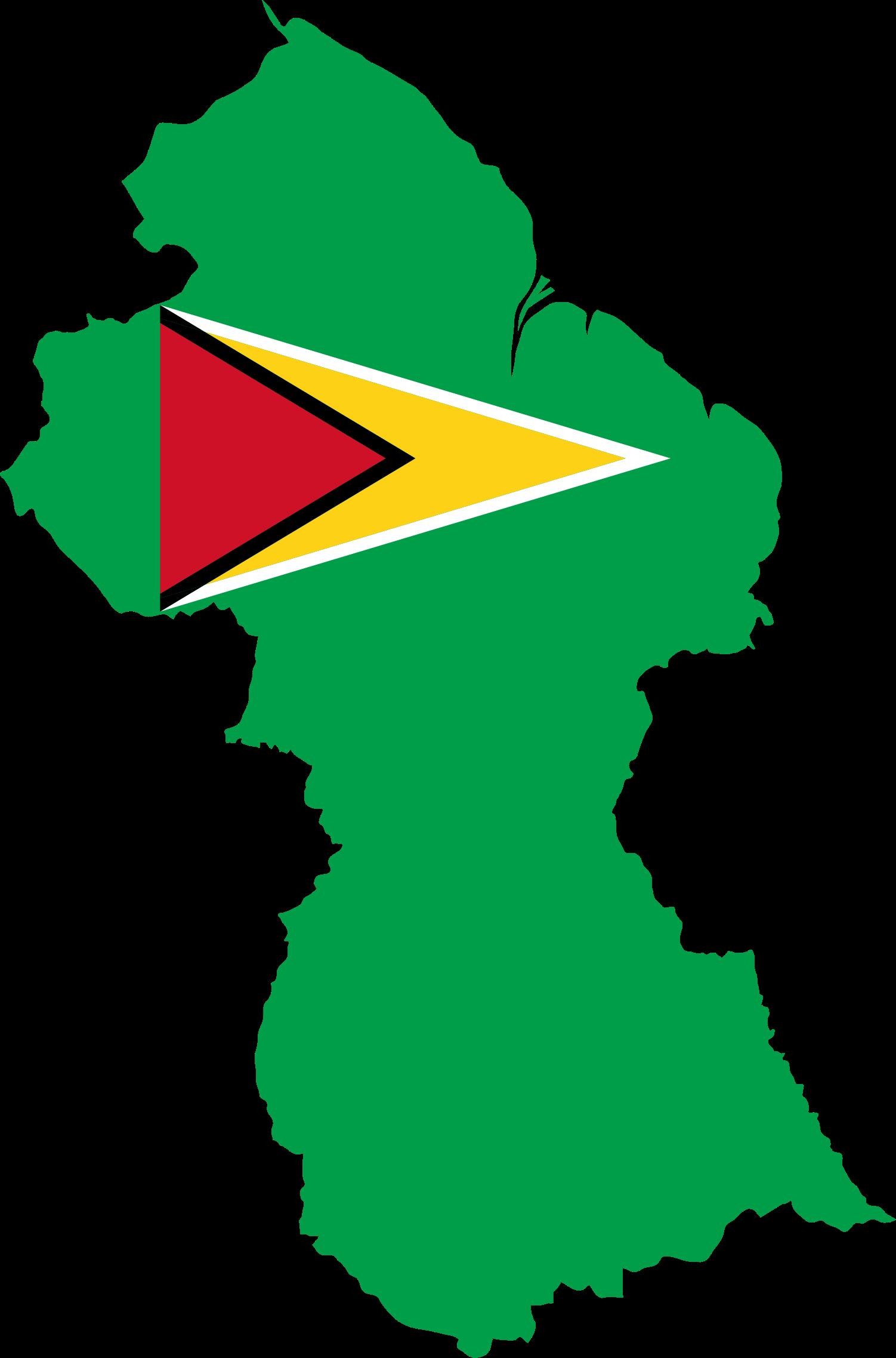 Clipart map clip art. Guyana flag big image