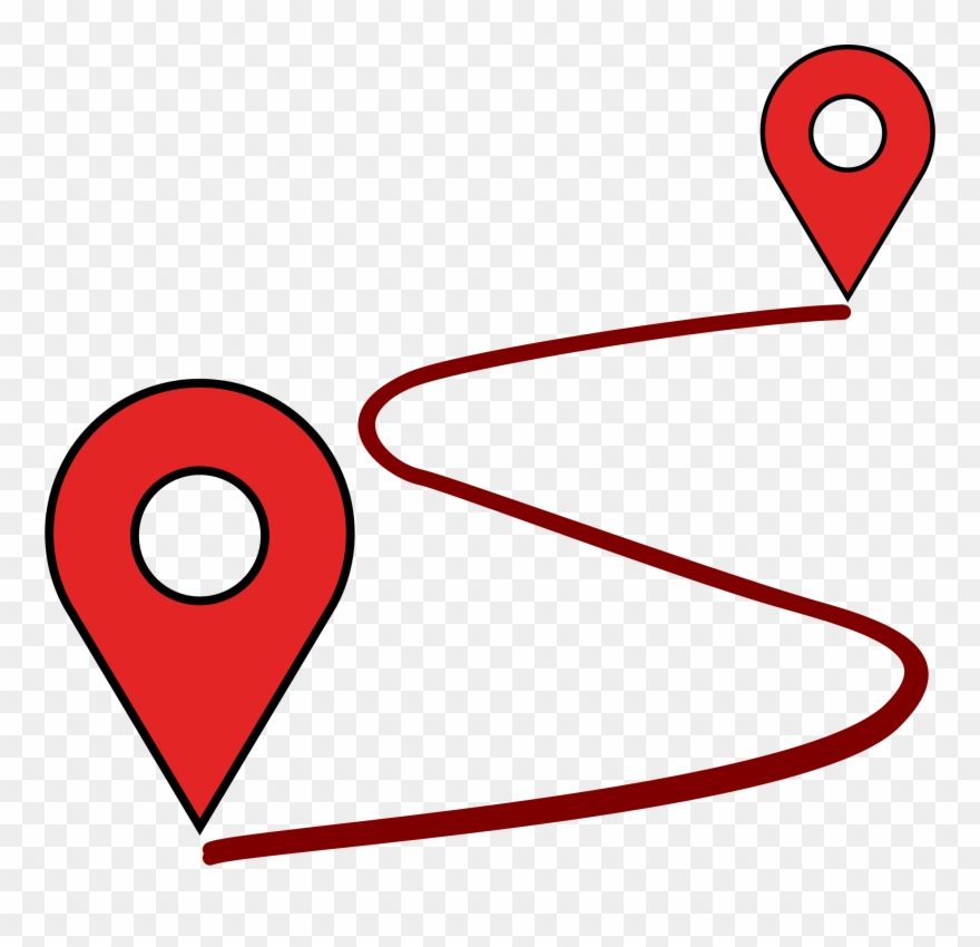 Point map path png. Maps clipart location