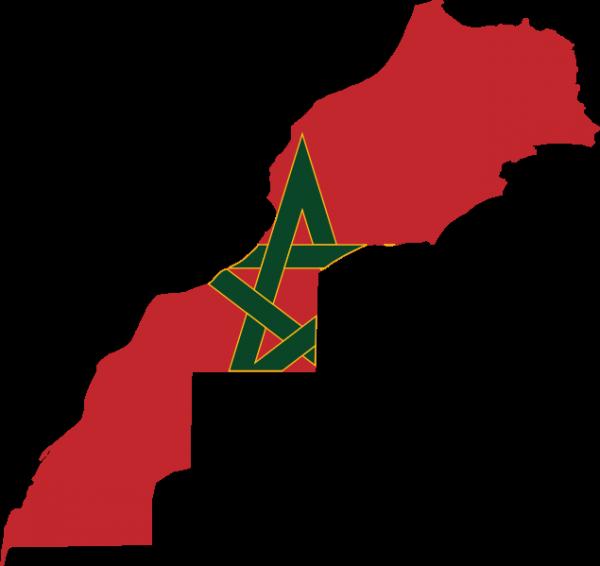 Of morocco carte du. Clipart map editable