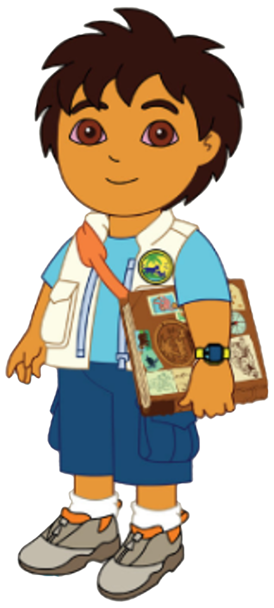 Image diego poses with. Clipart map explorer