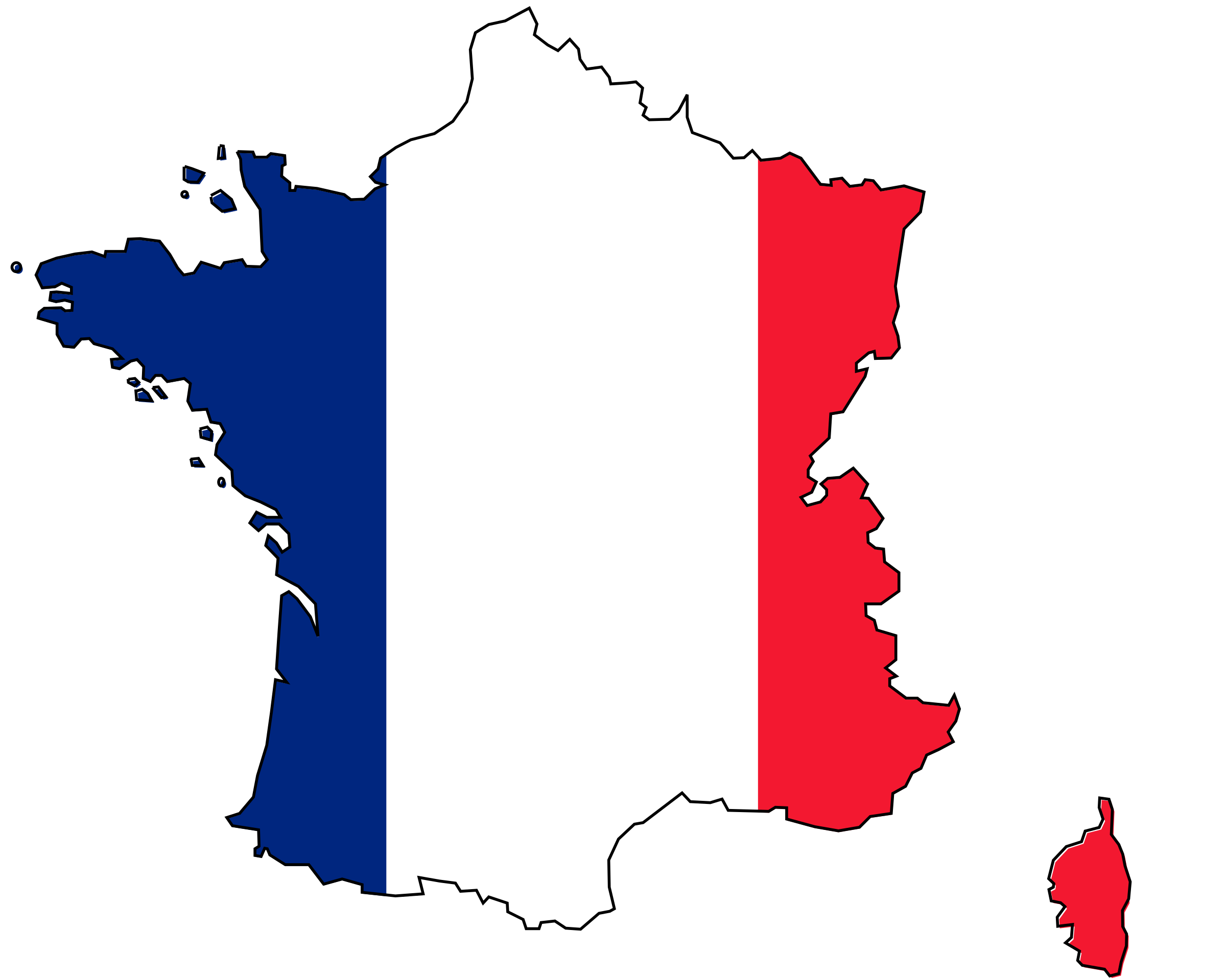 Colored of france big. Florida clipart map