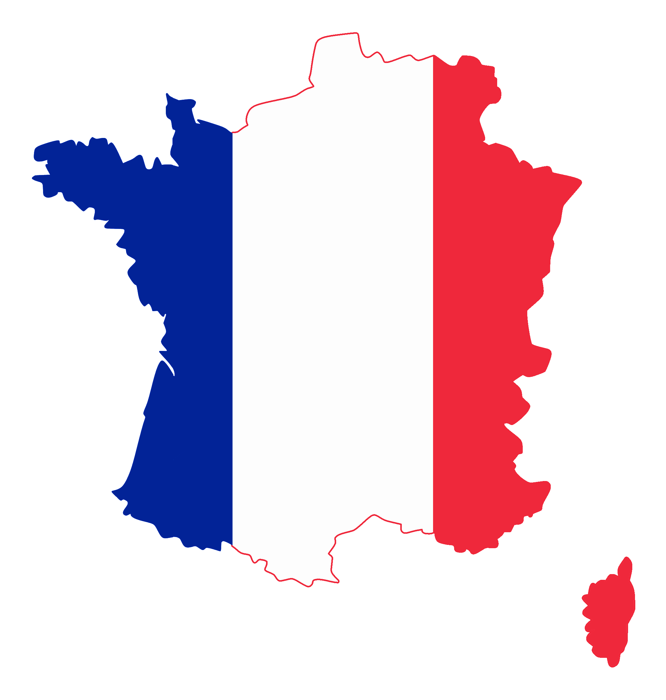 French clipart icon. Download png flag free