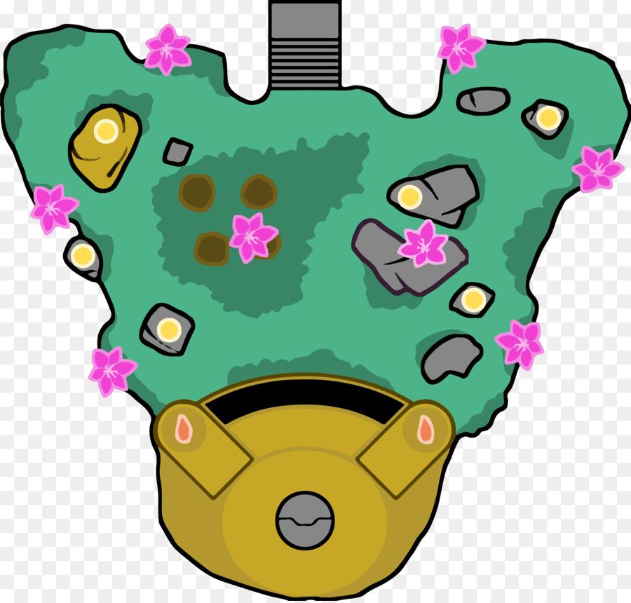 Cartoon green transparent clip. Garden clipart map