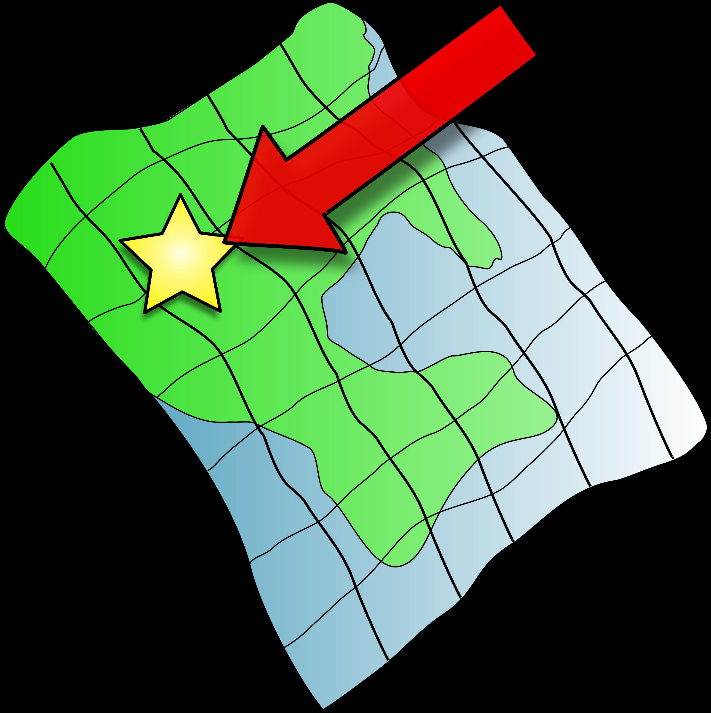 Clipart map generic. Ruffled big image png