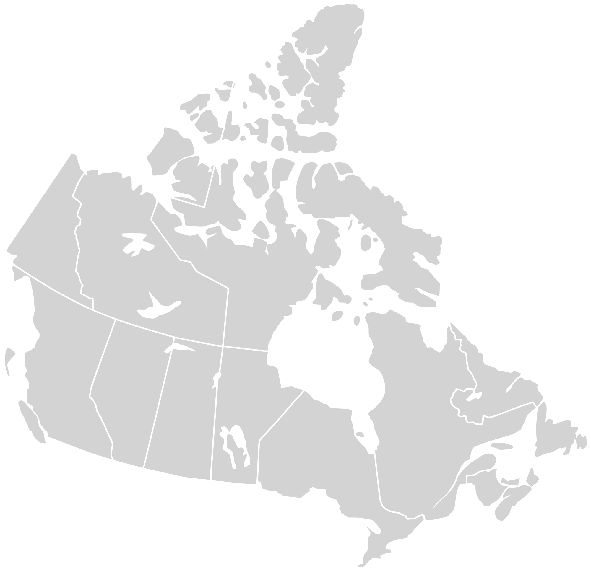 Clipart map generic. File canada blank svg