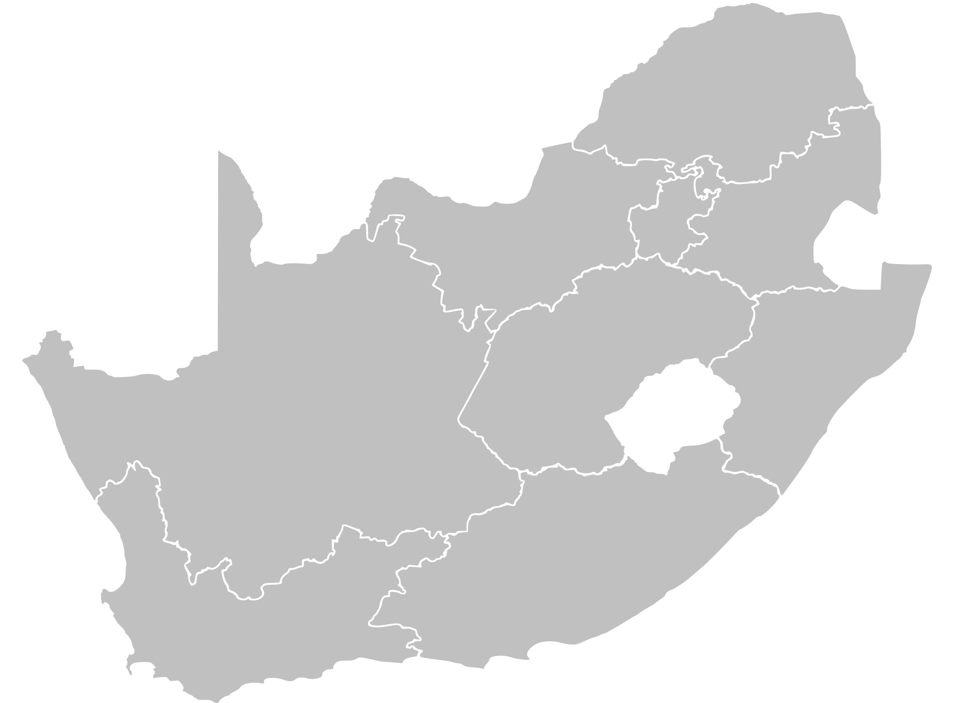 Clipart map generic. File south africa blank