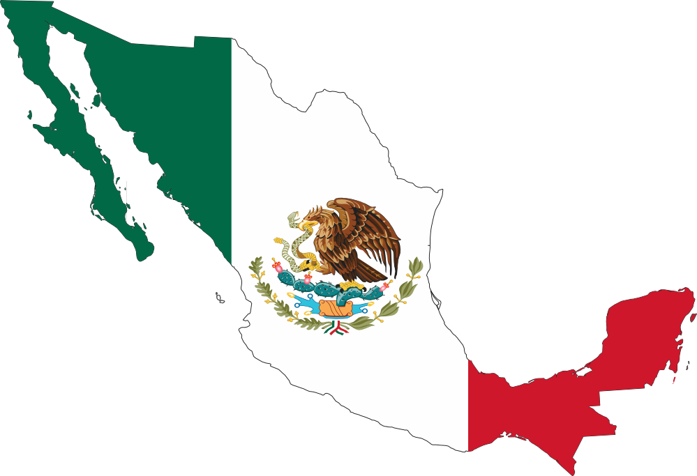 Clipart map generic. Mexican structured cabling standards
