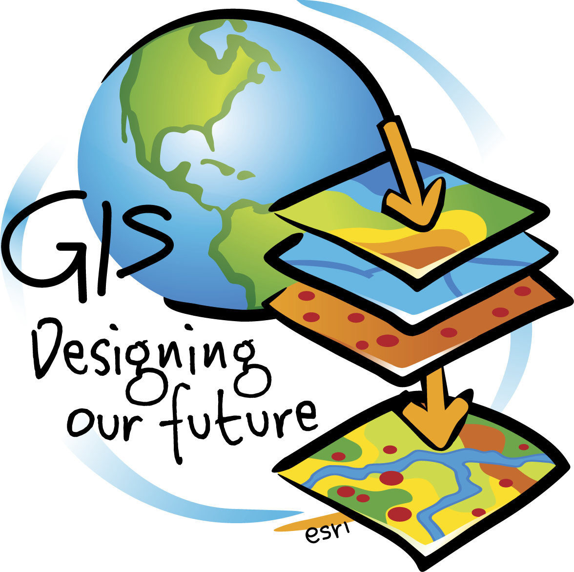 Maps gis free on. Geography clipart archaeologist tool