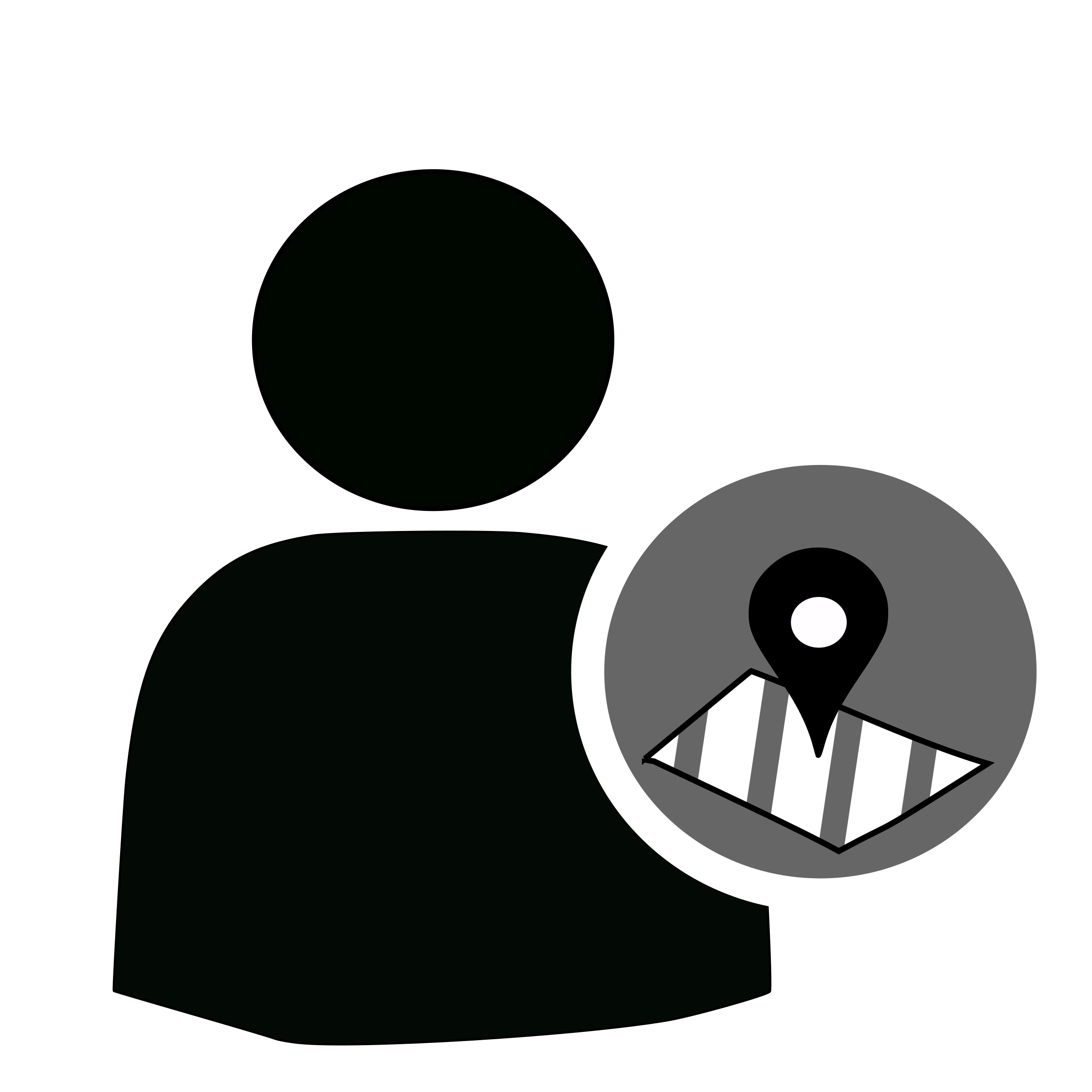 User map big image. White clipart location