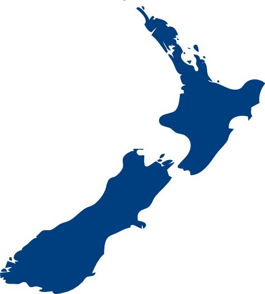 Maps clipart blue. New zealand map illustration