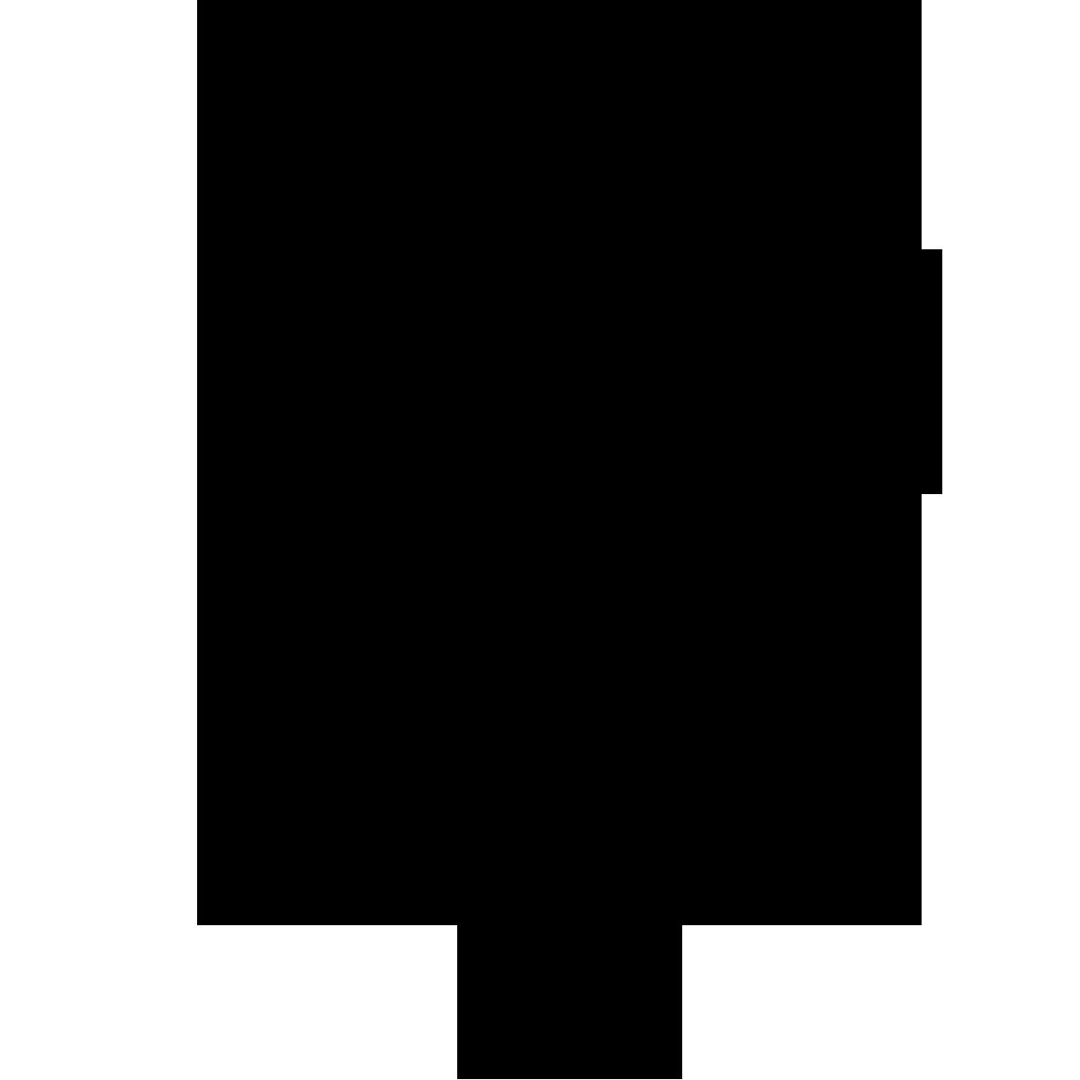 White clipart location. Icon