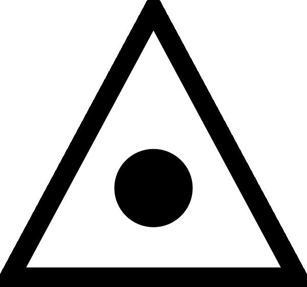 Japanese map symbol triangulation. Maps clipart sign