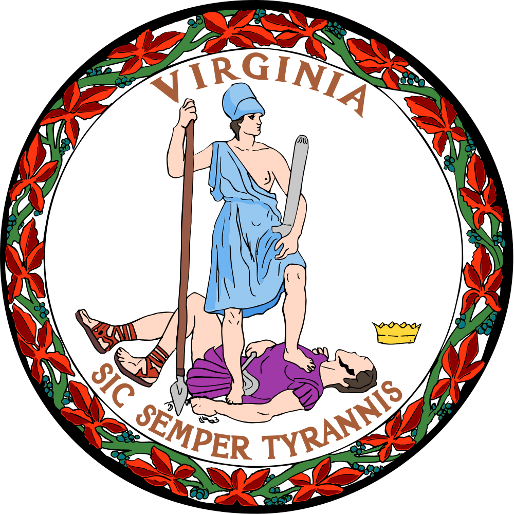 Court clipart court clerk. Virginia flags emblems symbols