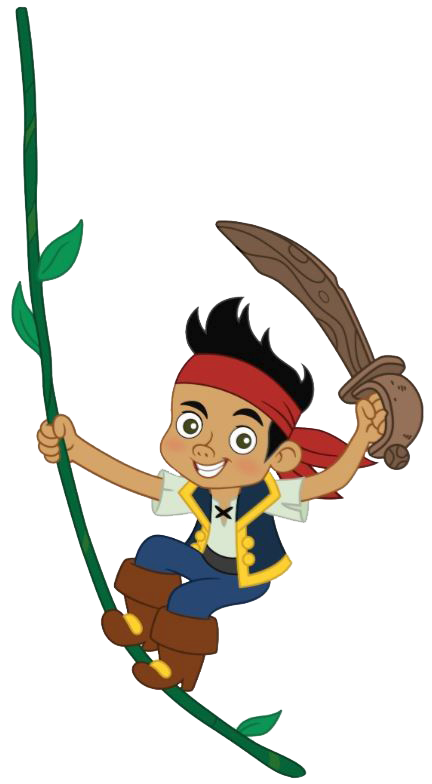 Treasure clipart jake and the neverland pirates. Never land on vine