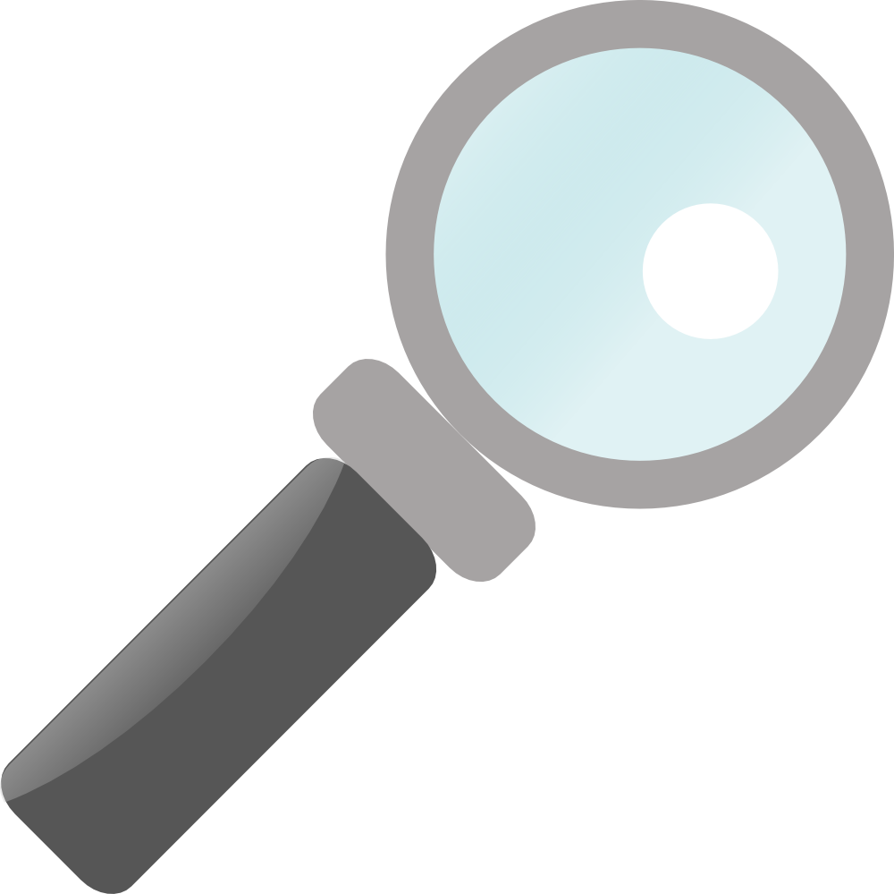 looking clipart magnifying glass