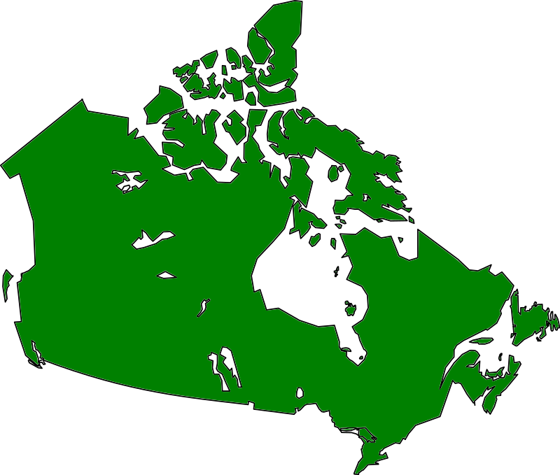 Map map canada