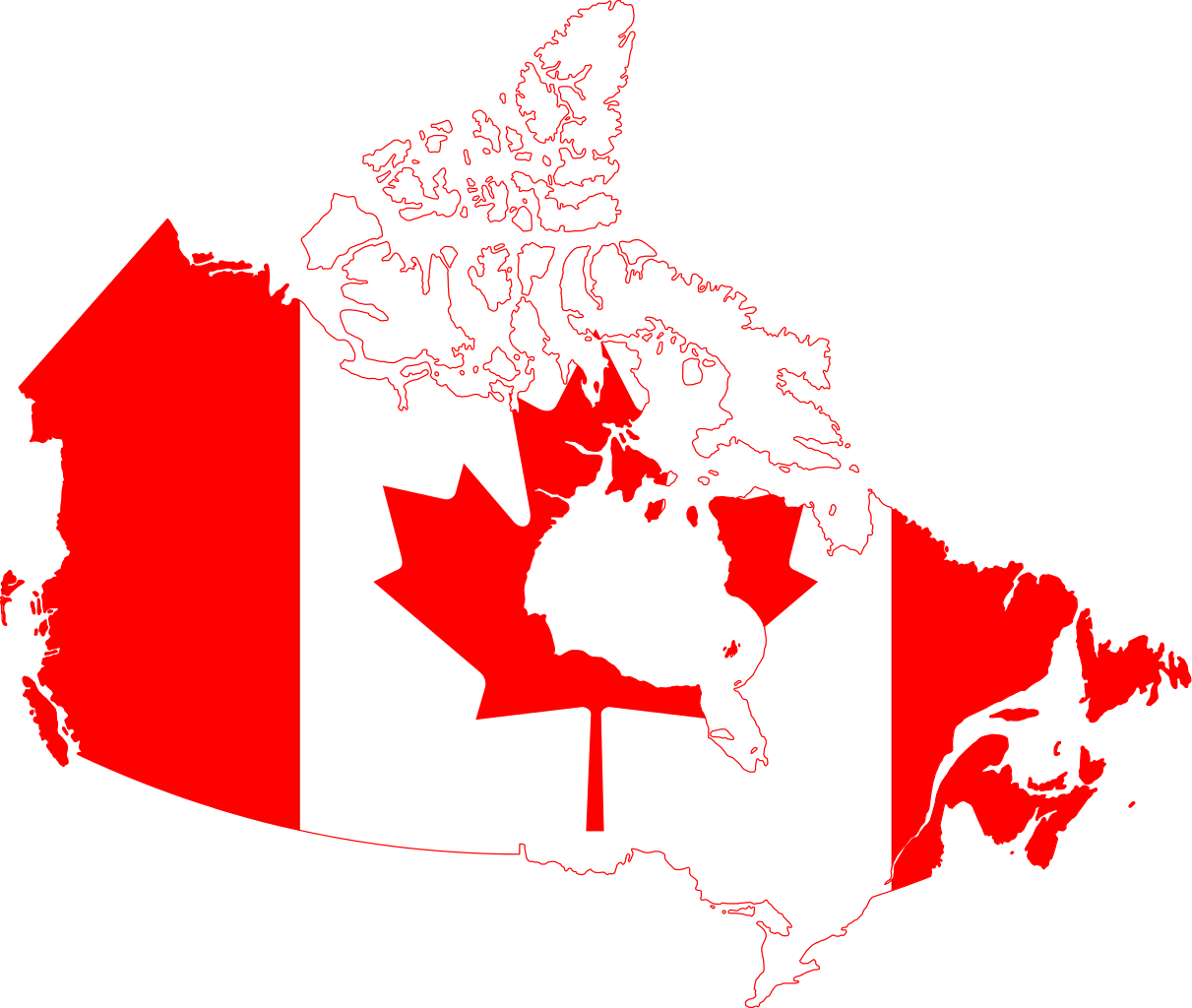 File canada map svg. Country clipart country flag