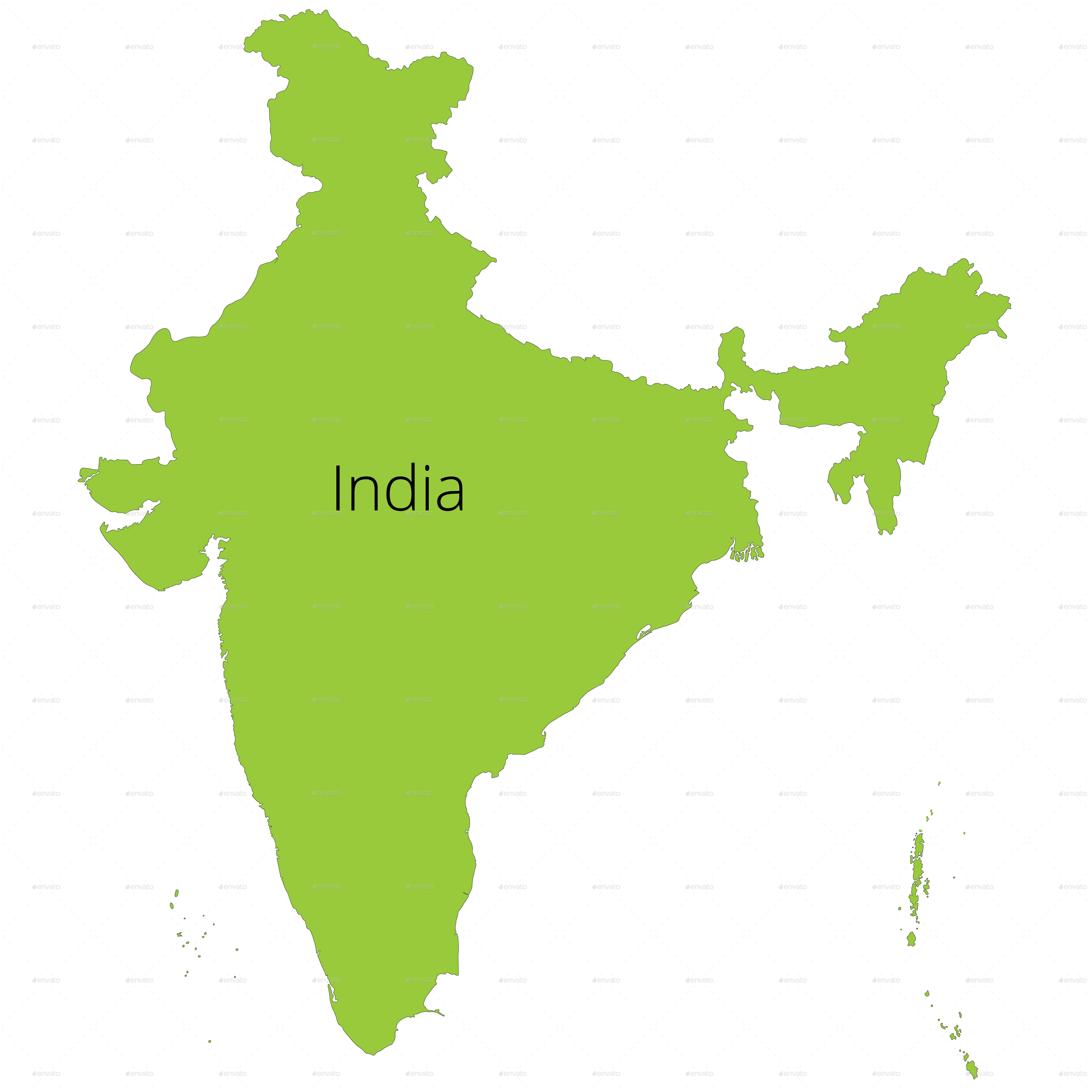 Map map indian