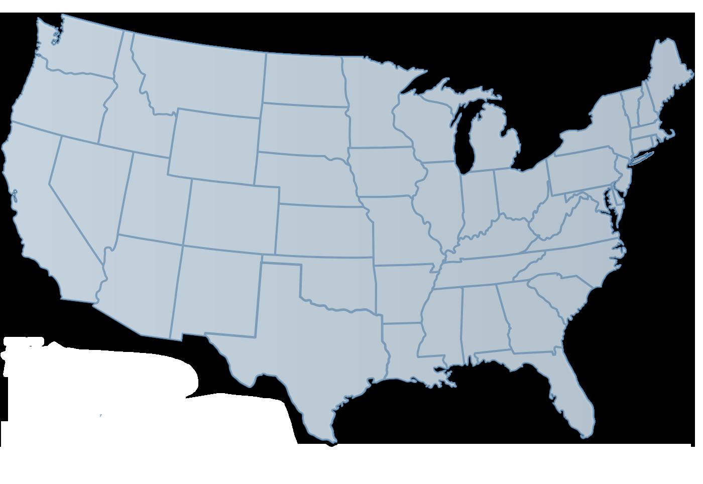Usa Clipart Usa Road Map  Usa Usa Road Map Transparent