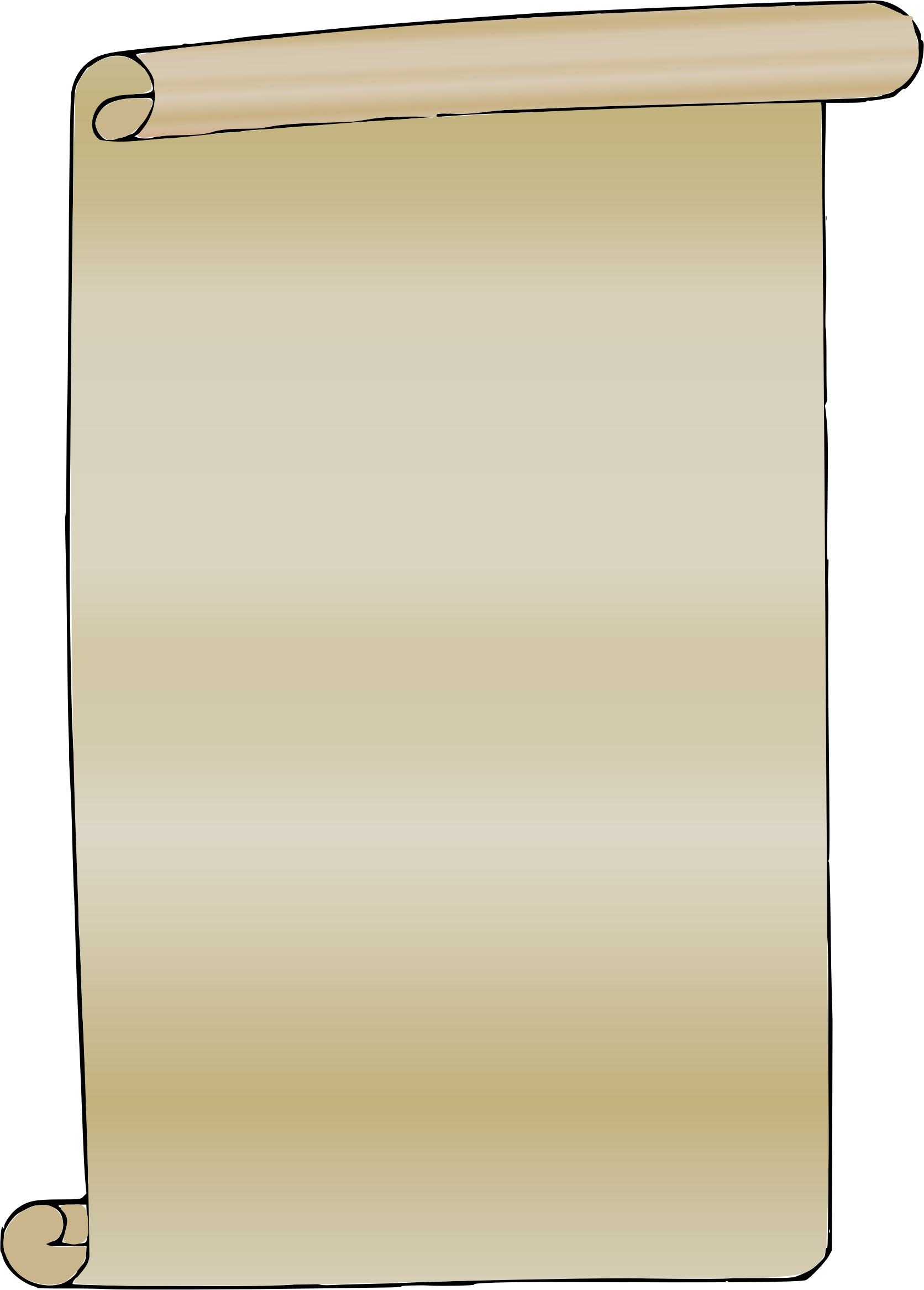 Paper image id png. Scroll clipart background