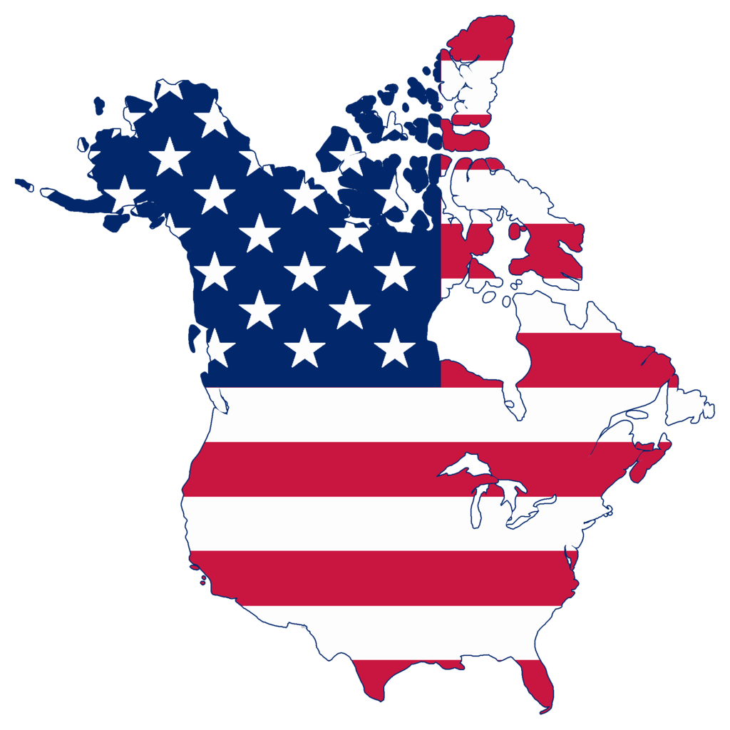 Clipart map map united states. File flag of canada