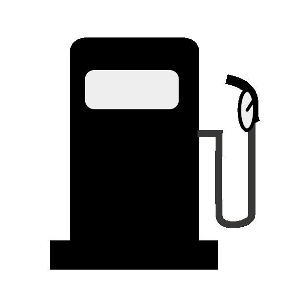 Petrol pump symbol clip. Clipart map nearby