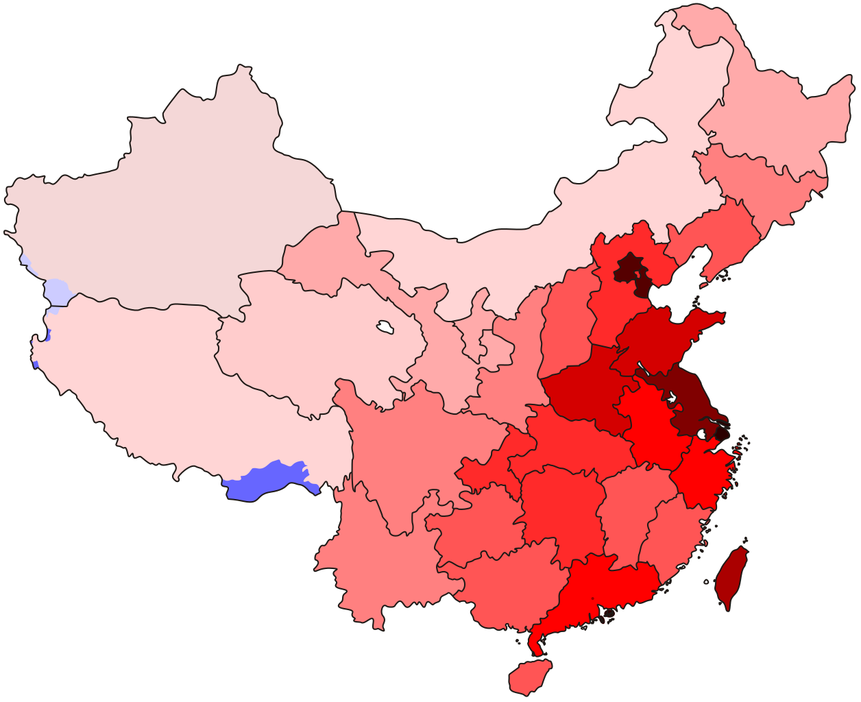 Clipart map nearby. File china pop density