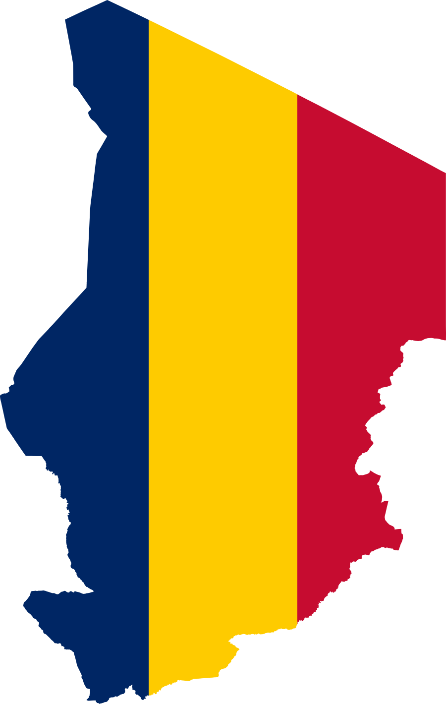 Clipart map nearby. File flag of chad
